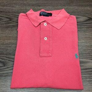 Polo Ralph Lauren Salmon Pink Polo Shirt M